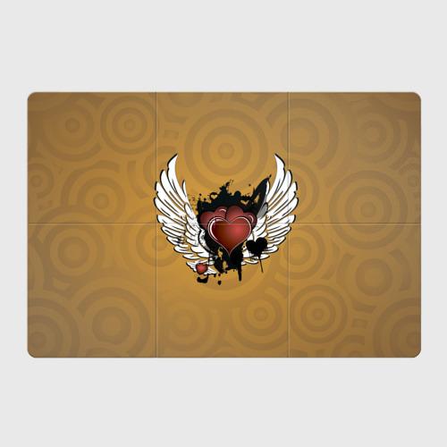 Магнитный плакат 3Х2  Фото 01, Сердце с крыльями