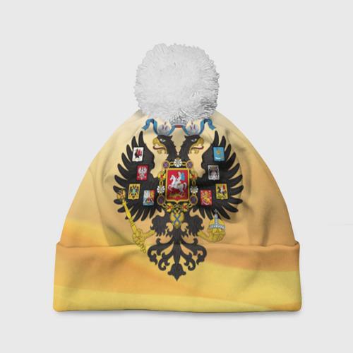 Шапка 3D c помпоном  Фото 01, Русская Империя