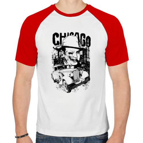Мужская футболка реглан  Фото 01, Гангстер