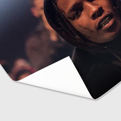 Бумага для упаковки 3D Asap Rocky Фото 01