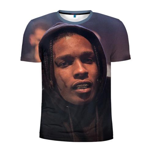 Мужская футболка 3D спортивная Asap Rocky Фото 01