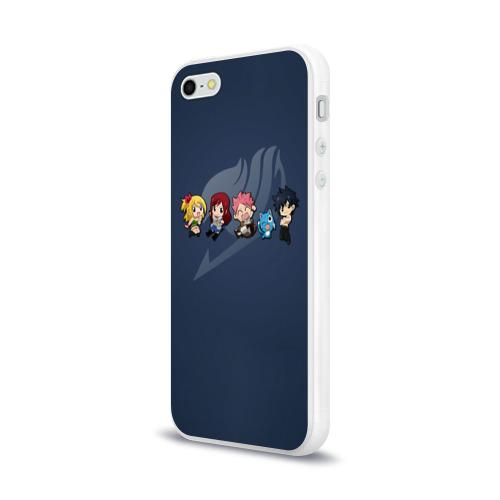 Чехол для Apple iPhone 5/5S силиконовый глянцевый  Фото 03, Хвост Феи
