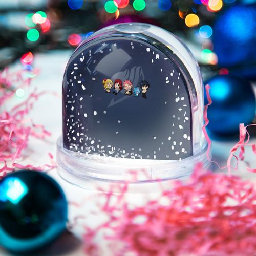 Водяной шар со снегом  Фото 03, Хвост Феи