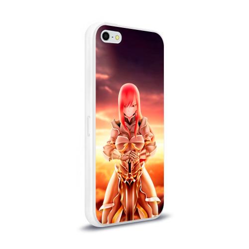 Чехол для Apple iPhone 5/5S силиконовый глянцевый  Фото 02, Fairy Tail
