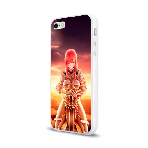 Чехол для Apple iPhone 5/5S силиконовый глянцевый  Фото 03, Fairy Tail