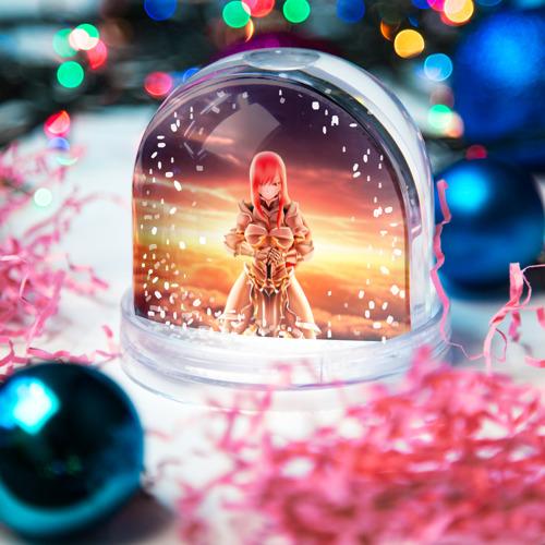 Водяной шар со снегом  Фото 03, Fairy Tail