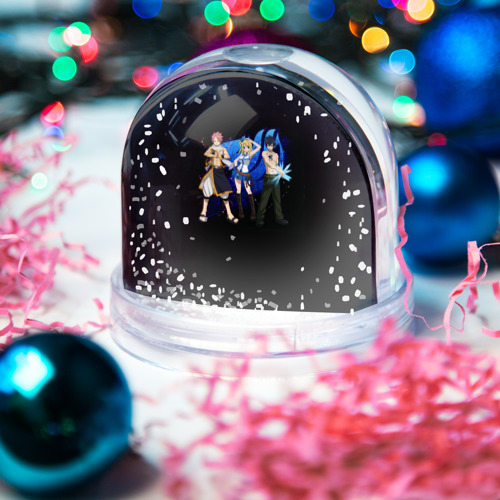 Водяной шар со снегом  Фото 03, Logo