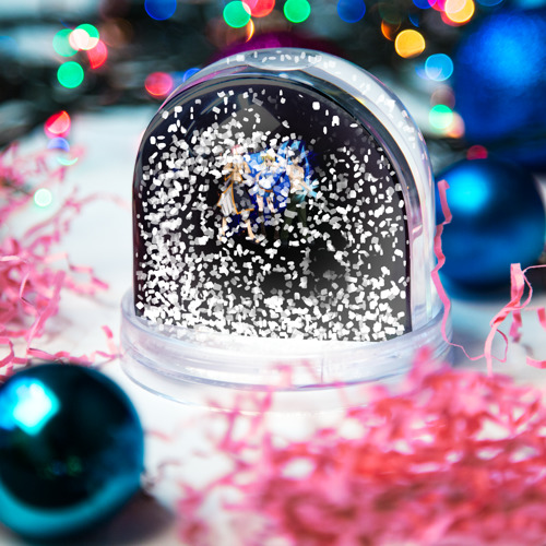 Водяной шар со снегом  Фото 04, Logo