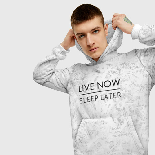 Live Now Sleep Later