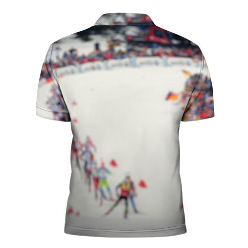 Мужская рубашка поло 3D  Фото 02, Биатлон