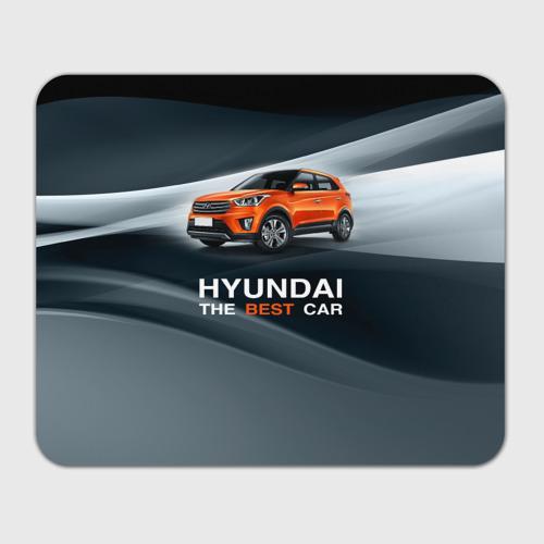 Коврик для мышки прямоугольный  Фото 01, Hyundai the best car