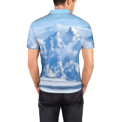 Мужская рубашка поло 3D  Фото 04, Biathlon russia