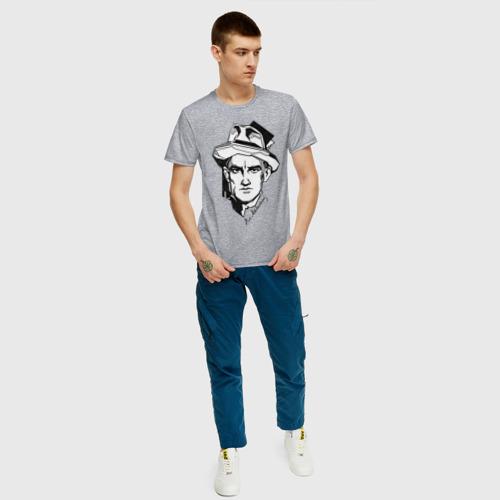 Мужская футболка хлопок Маяковский Фото 01