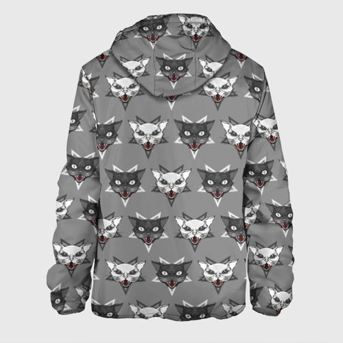 Мужская куртка 3D  Фото 02, Злые котики