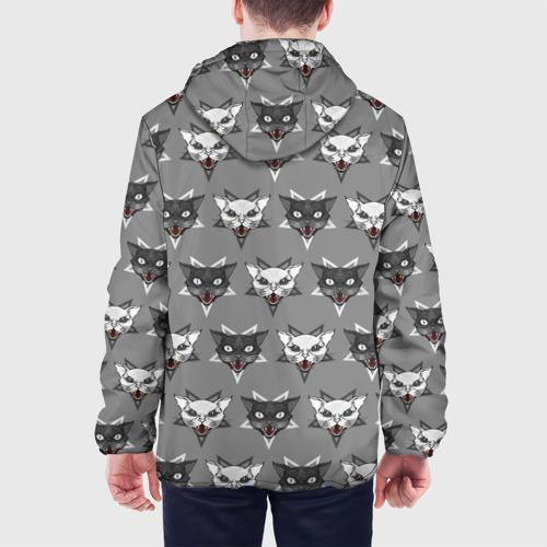 Мужская куртка 3D  Фото 05, Злые котики