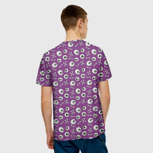 Мужская футболка 3D  Фото 02, Узор из черепушек
