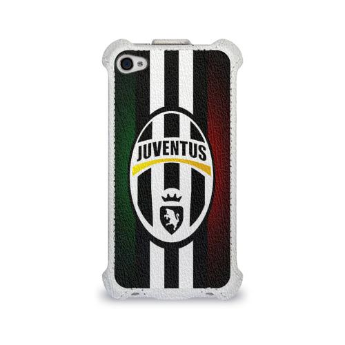 Чехол для Apple iPhone 4/4S flip  Фото 01, Juventus FC
