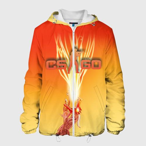 Мужская куртка 3D  Фото 01, Dragon lore cs go