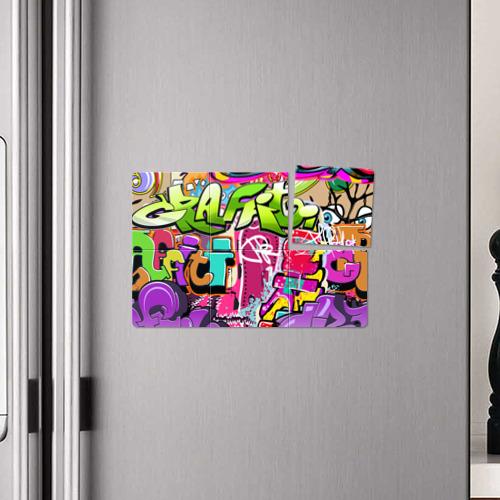 Магнитный плакат 3Х2  Фото 04, Граффити