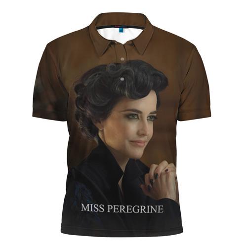 Мужская рубашка поло 3D Мисс Перегрин