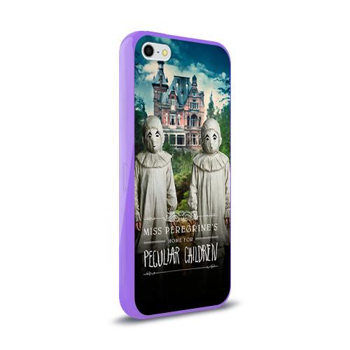 Чехол для Apple iPhone 5/5S силиконовый глянцевый  Фото 02, Енох О'Коннор