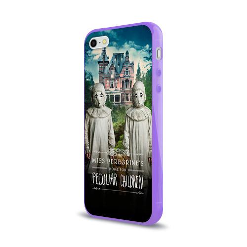 Чехол для Apple iPhone 5/5S силиконовый глянцевый  Фото 03, Енох О'Коннор