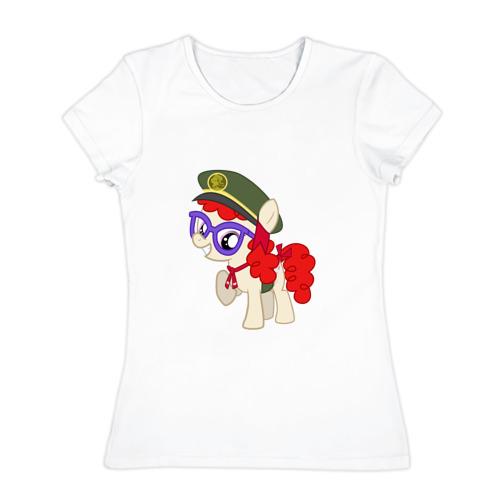 Женская футболка хлопок  Фото 01, Литл Пони