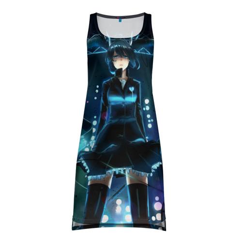 Платье-майка 3D Hatsune Miku