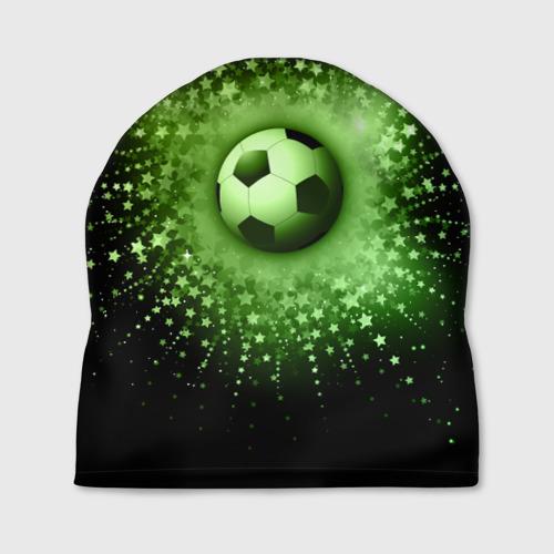 Шапка 3D Футбольный мяч 4