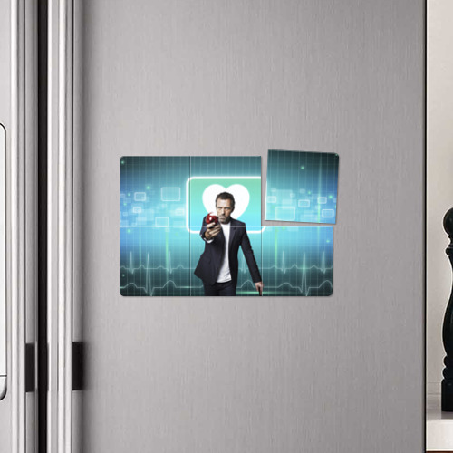 Магнитный плакат 3Х2  Фото 04, Хаус