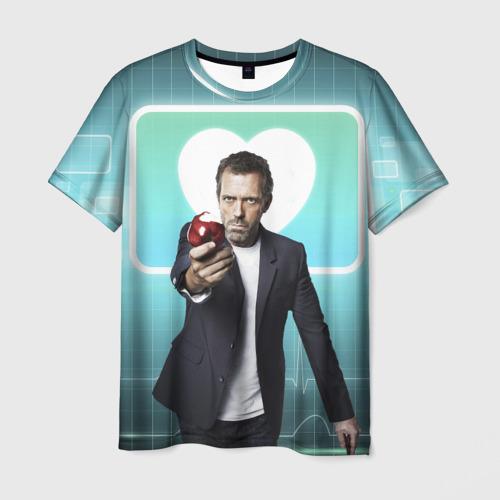 Мужская футболка 3D Хаус