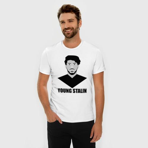 Мужская футболка премиум  Фото 03, Young Stalin