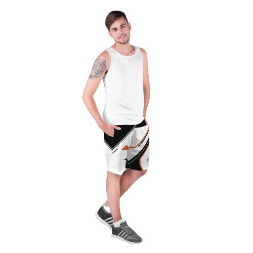 Мужские шорты 3D  Фото 03, cs:go - Asiimov P250 Style