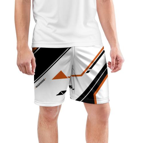 Мужские шорты 3D спортивные  Фото 03, cs:go - Asiimov P250 Style