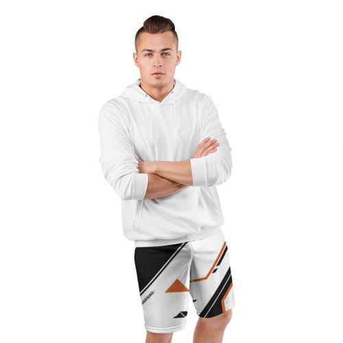 Мужские шорты 3D спортивные  Фото 05, cs:go - Asiimov P250 Style