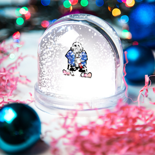 Водяной шар со снегом  Фото 04, Undertale