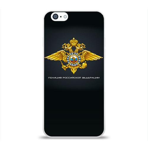 Чехол для Apple iPhone 6 силиконовый глянцевый  Фото 01, Полиция Российской Федерации
