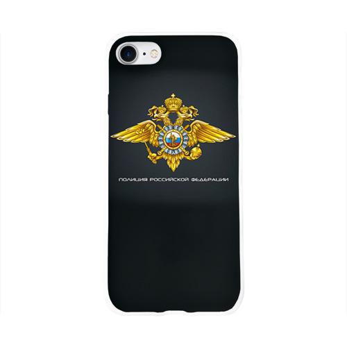 Чехол для Apple iPhone 8 силиконовый глянцевый  Фото 01, Полиция Российской Федерации