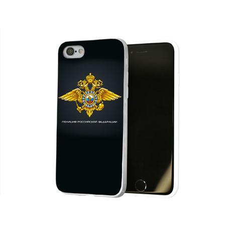 Чехол для Apple iPhone 8 силиконовый глянцевый  Фото 02, Полиция Российской Федерации