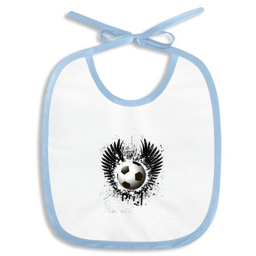 Футбольный мяч с крыльями