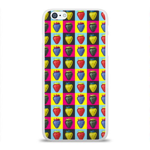 Чехол для Apple iPhone 6Plus/6SPlus силиконовый глянцевый  Фото 01, POP ART
