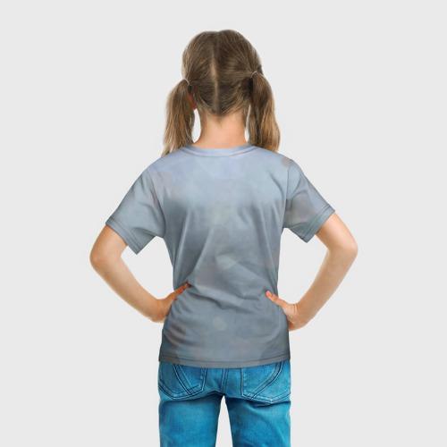 Детская футболка 3D Кролик с газетой Фото 01