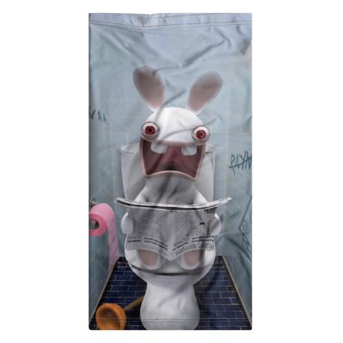 Бандана-труба 3D  Фото 07, Кролик с газетой