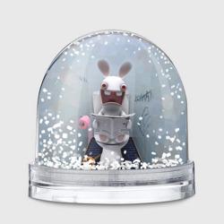 Кролик с газетой