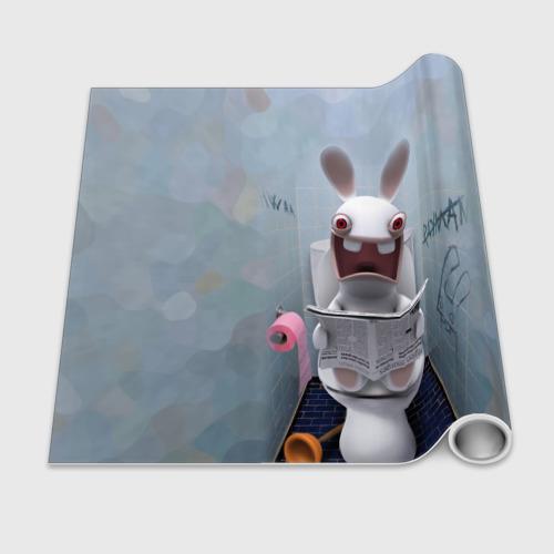 Бумага для упаковки 3D Кролик с газетой Фото 01