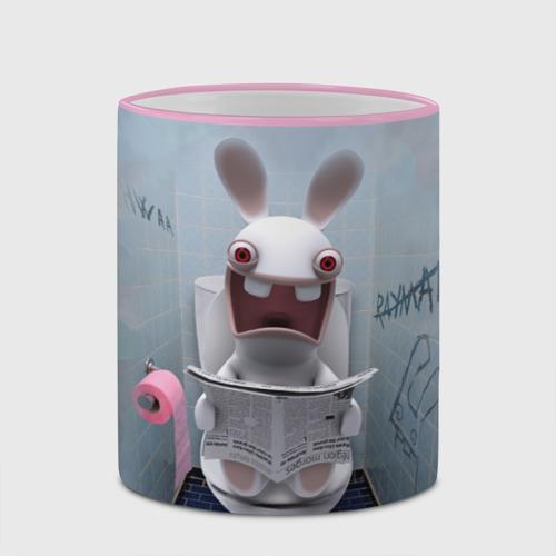 Кружка с полной запечаткой Кролик с газетой Фото 01