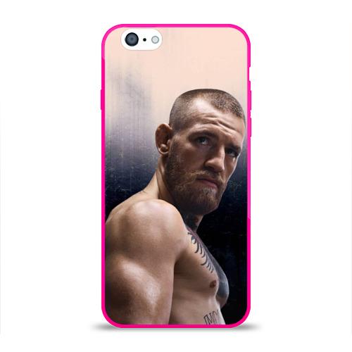 Чехол для Apple iPhone 6 силиконовый глянцевый  Фото 01, Конор Макгрегор