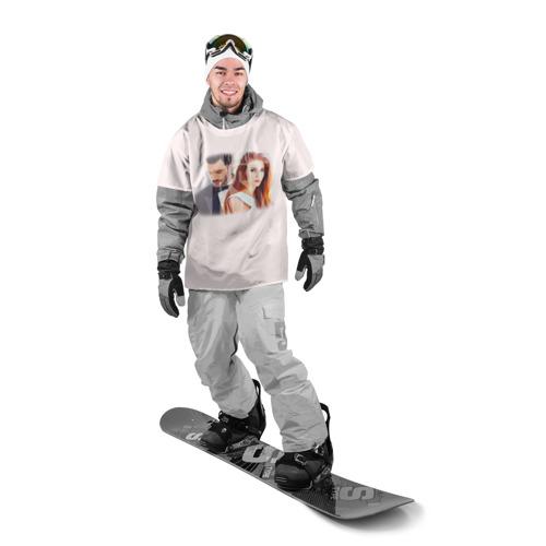 Накидка на куртку 3D  Фото 03, Любовь напрокат 3