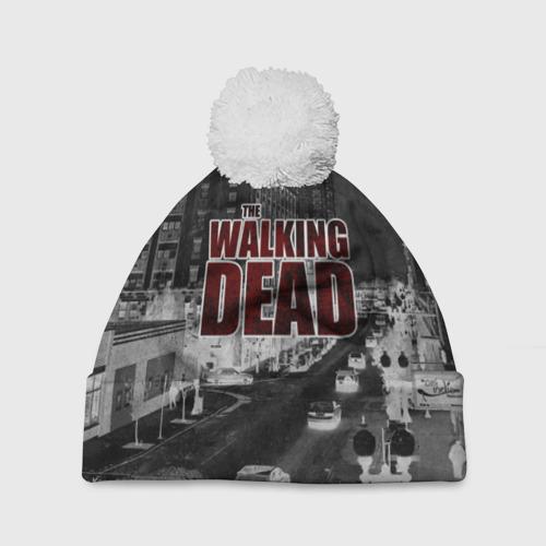 Шапка 3D c помпоном  Фото 01, The Walking Dead