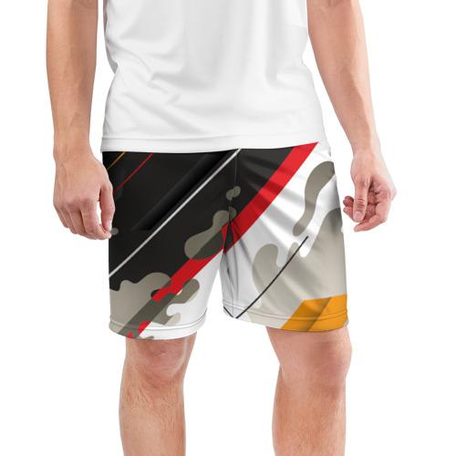 Мужские шорты 3D спортивные  Фото 03, Pat24